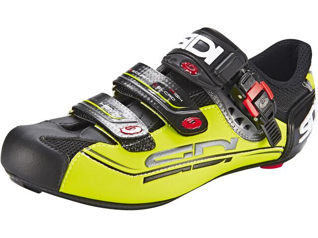 Sidi Genius 7 Mega Shoes Herre black/yellow